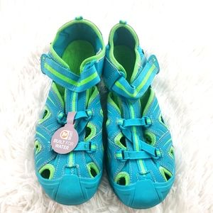 Merell bright blue Hydro hiking shoe size 7m